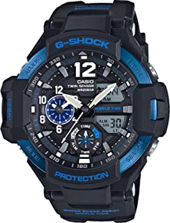 Casio G-Shock Blue Gravity Defier Ga1100-2B Watch