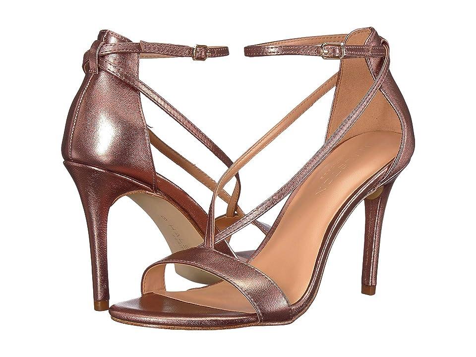 Halston Heritage Evie Heels (Mink Metallic) Women