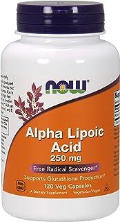 NOW Foods Alpha Lipoic Acid 250mg (360 High Potency Vcaps)