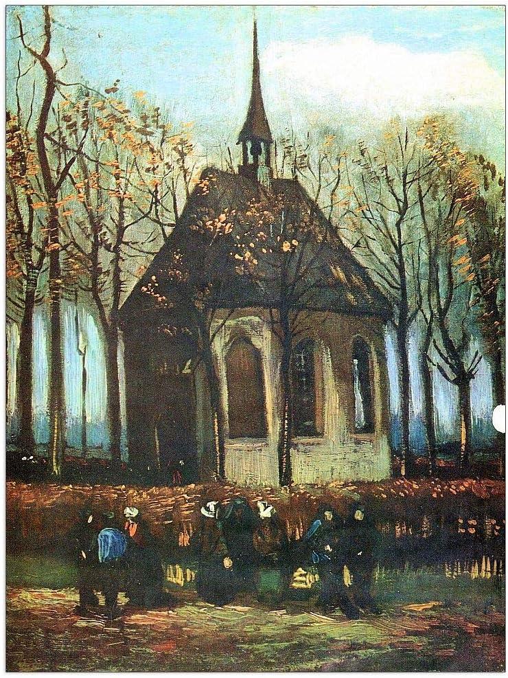 ArtPlaza Van Kansas City Mall Gogh Vincent - The Church Decorative of cheap Pane Nuenen