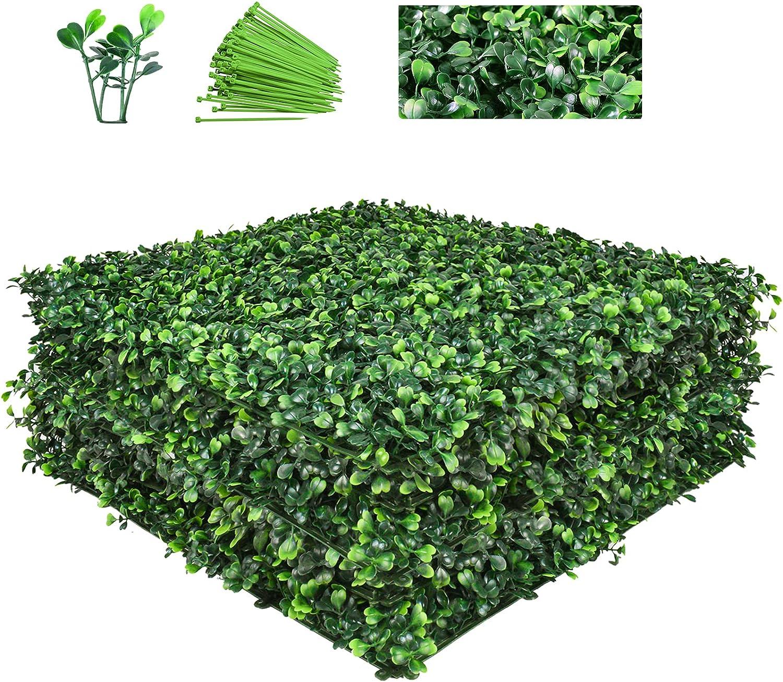 Funland 12 Pcs Artificial Grass Wall Panels 20