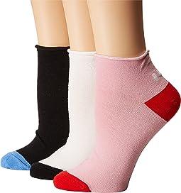 Left Right 3-Pack Anklet Socks