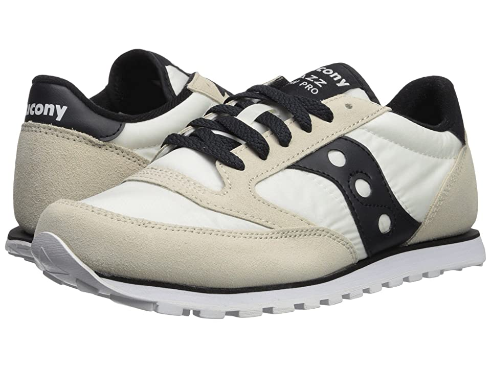 Saucony Originals Jazz Low Pro (White/Black) Men