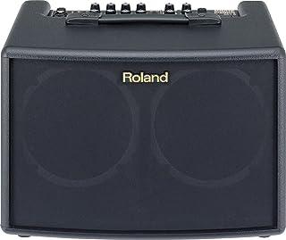 Roland AC-60 Acoustic Chorus Guitar Amplifier with Dual 30-Watt 6.5-inch Speakers, Black