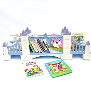 FeliFam Kids bookcase wall Wooden bookshelf Baby book shelf Kids bedroom decor Baby shower gift Tower Bridge (London, UK), Collection: History
