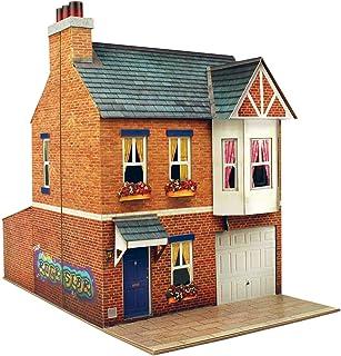 O gauge 7mm 1:48 scale Model Railroad Building ROW HOUSE Kit CityBuilder