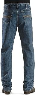 Cinch Apparel Mens Silver Label Slim Fit Medium Stonewash Jeans 30x32 Dark Stone