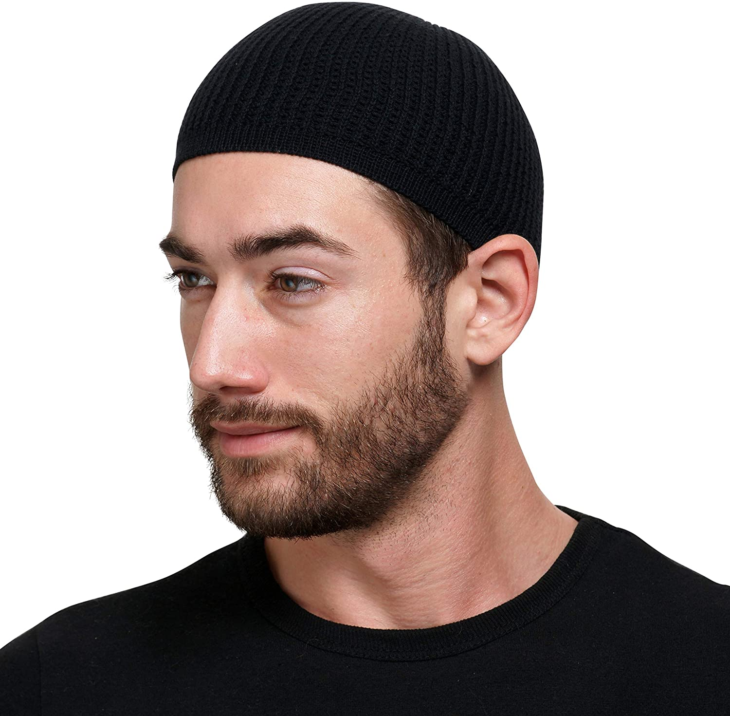 Muslim Bookmark Solid Colored Elastic Kufi Cap Our shop OFFers the best service Skull Ranking TOP20 Hats