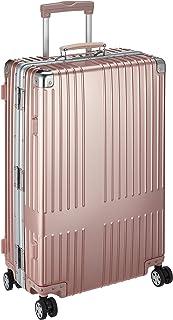 [イノベーター] スーツケース アルミキャリー フレーム | 67L | ブランドロゴレーザーなし | TSAダイヤルロック | 双輪キャスター | 多段階調整キャリーバー | 保証付 69 cm 5.8kg ローズゴールド