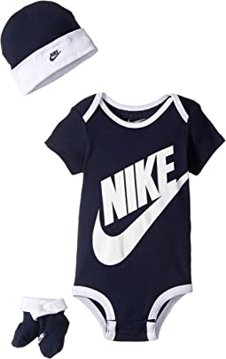 Nike Kids - Three-Piece Pack Futura Logo Set (Infant)