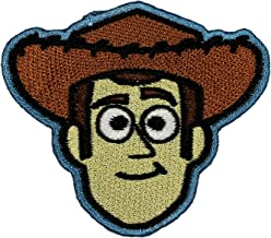 Disney Toy Story Woody Patch Cowboy Face Movie Embroidered Iron On Applique