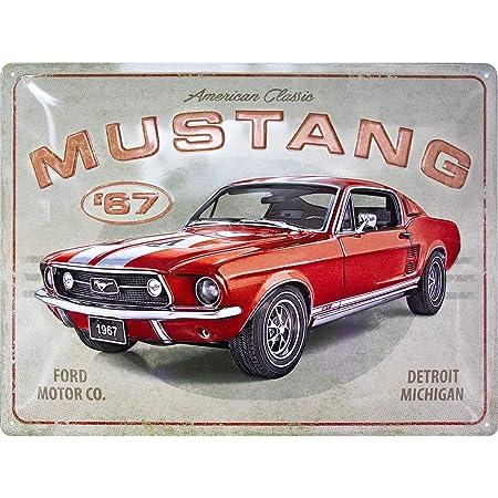 Nostalgic Art Retro Blechschild Ford Mustang Gt 1967 Geschenk Für Auto Zubehör Fans