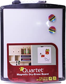 "Quartet Magnetic Whiteboard, 9"" x 11"" Small White Board for Wall, Dry Erase Board for Kids, Perfect for Home Office & Home..."