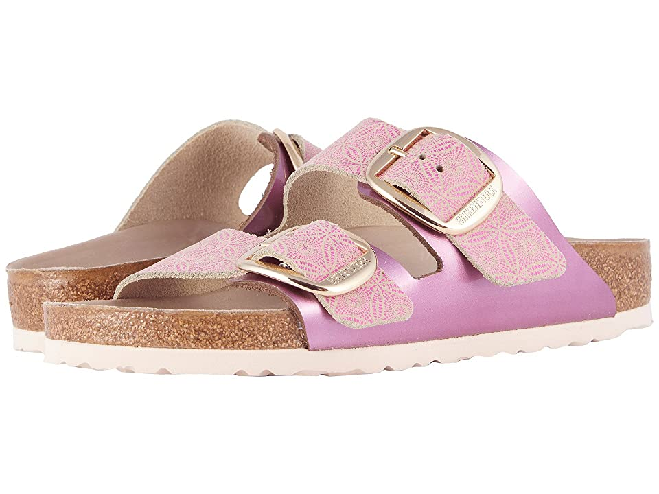 Birkenstock Arizona Big Buckle (Ceramic Rose Leather) Women