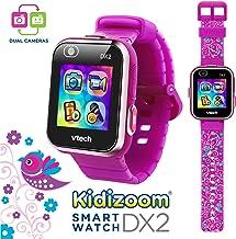 VTech KidiZoom Smartwatch DX2 Special Edition Floral Birds with Bonus Vivid Violet..