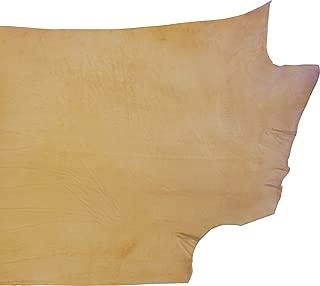Springfield Leather Company's Full Grain Veg Tan Double Shoulder's (4-6ft, Craftsman Grade)