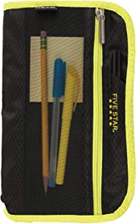 Five Star Xpanz Pencil Pouch - Multiple Colors (Yellow & Black)