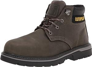 Caterpillar Men's Outbase Waterproof Steel Toe Boot (14, Charcoal Grey)