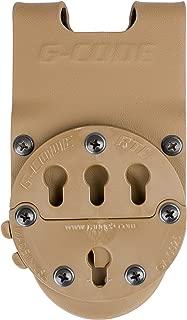G-CODE RTI Optimal Drop Pistol Platform-GCA 200-(TAN) 100% Made in The USA (1153-4C)