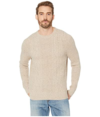 The Normal Brand Kennedy Speck Crew Sweater (Stone) Men