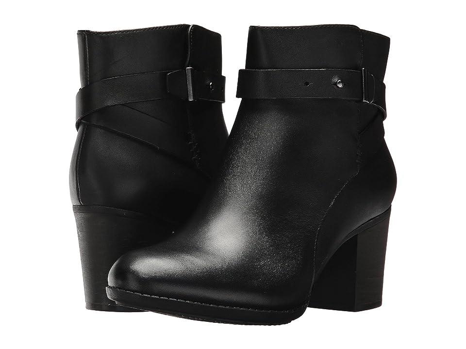 Clarks Enfield Sari (Black Leather) Women