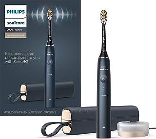مسواک برقی شارژی Philips Sonicare 9900 Prestige با SenseIQ ، Midnight HX9990 / 12