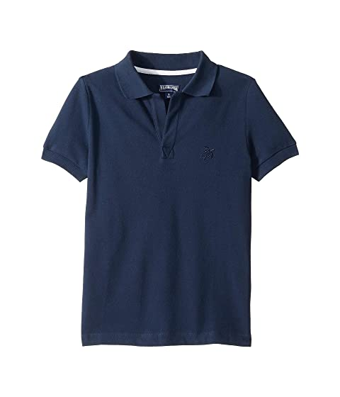 Vilebrequin Kids Cotton Pique Polo (Little Kids/Big Kids)