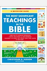 The Most Significant Teachings in the Bible Kindle Edition