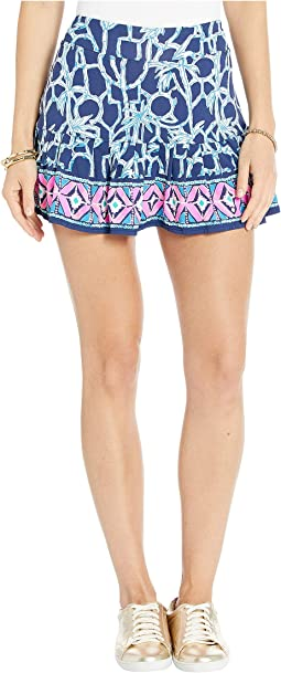 High Tide Navy Lucky Bamboo Engineered Skort