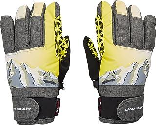 comprar comparacion Ultrasport Rocky Guantes de esquí para niños, Flexibles, con una Gran Libertad de Movimientos, Impermeables, Resistentes a...
