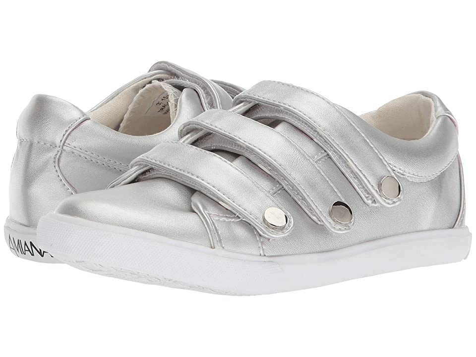 Amiana 15-A5516 (Toddler/Little Kid/Big Kid/Adult) (Silver Casual PU) Girl