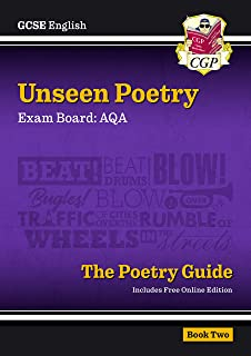 Grade 9-1 GCSE English Literature AQA Unseen Poetry Guide - Book 2