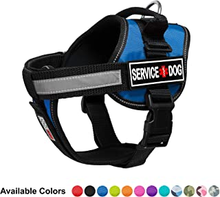 Dogline Unimax Emotional Support Dog Harness Vest with 3D Rubber Service Dog Patches Adjustable Straps, Fit, Breathable Neoprene for Medical, Service, Identification Training Dogs