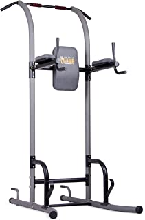 Body Champ VKR1010 Fitness Multi Function Power Tower/Multi Station for Home Office Gym Dip Stands Pull Up Push up VKR
