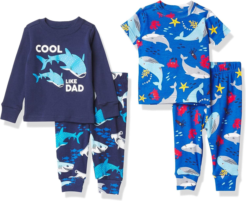 The Children's Place Baby Boys' Four Piece Pajama Set