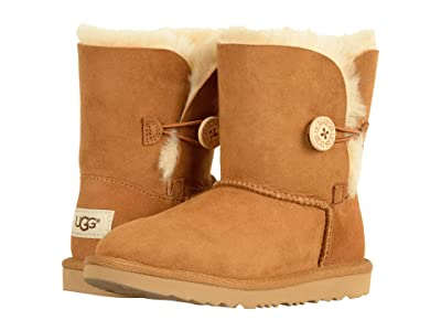 UGG Kids Bailey Button II (Little Kid/Big Kid) (Chestnut) Girls Shoes