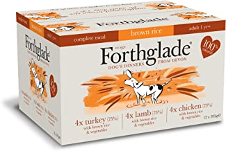 Forthglade Complete Meal Adult Multi Chicken Lamb Turkey Dog Food (12x395g)