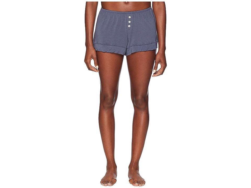 Eberjey Astrid The Boyfriend Shorts (Anthracite) Women