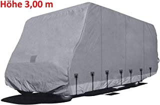 Schutzhülle für Wohnmobile und Mobilhome Höhe 3,00 m Länge   10,50 m Breite 2,50 m Gr. 12 Sommer  und Winterabdeckung