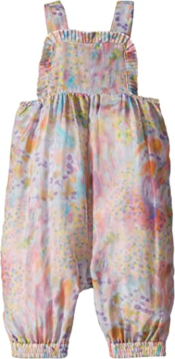 Stella McCartney Kids - Desiree Multicolor Cotton-Silk Romper (Infant)