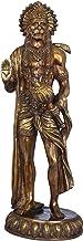 Standing Hanuman - Brass Statue - Color Antique Color