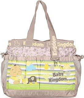 PACKNBUY Baby Diaper Bag Changing Mat Maternity Travel Brown