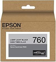 Epson T760920 T760920 (760) UltraChrome HD Ink Light Light Black