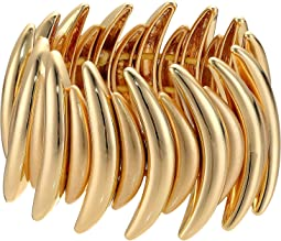 Robert Lee Morris - Gold Curved Stretch Bracelet