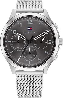 TOMMY HILFIGER ASHER MEN's GREY DIAL WATCH - 1791851