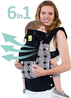 LÍLLÉbaby The Complete All Seasons SIX-Position, 360° Ergonomic Baby & Child Carrier, Black