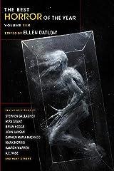 Best Horror of the Year (Best Horror of the Year Book 10) Kindle Edition