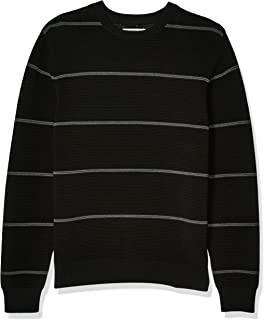 Amazon Brand - Goodthreads Men's Soft Cotton Ottoman Stitch Crewneck Sweater