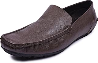 Andrew Scott Men's Leather Formal Slip On