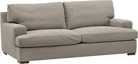 Stone & Beam Lauren Down-Filled Oversized Sofa Couch with Hardwood Frame, 89